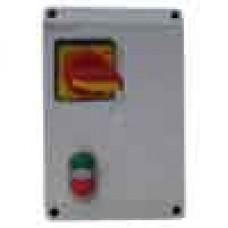 DOL starter 0.75kW w/ DOL, dual start/stop button & isolator